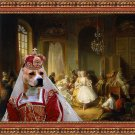 American Staffordshire Terrier Fine Art Canvas Print - Actors Before a Performance