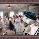 Bedlington Terrier Fine Art Canvas Print - Who has the best dress