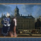 Bull Terrier Fine Art Canvas Print - Gerrit Berckheyde