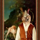 Cairn Terrier Fine Art Canvas Print - After the hunt