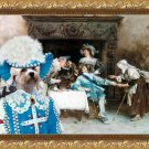 Dandie Dinmont Terrier Fine Art Canvas Print - Good Health and Good Fortune
