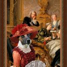 Fox Terrier Smooth Fine Art Canvas Print - Reading Moliere