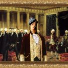 Irish Terrier Fine Art Canvas Print - Selection of ministers in parliament