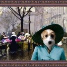 Jack Russell Terrier Fine Art Canvas Print - The Flower Market Copenhagen