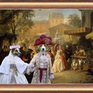 Parson Russell Terrier Fine Art Canvas Print -  The Fair