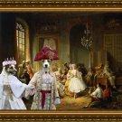 Parson Russell Terrier Fine Art Canvas Print -  Actors Before a Performance