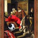 Parson Russell Terrier Fine Art Canvas Print - The Duty