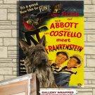 Berger Picard  Poster Canvas Print -  Abbott and Costello Meet Frankenstein