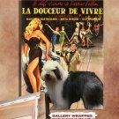Old English Sheepdog Poster Canvas Print -  La Dolce Vita