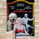 Bichon Frise Poster Canvas Print -  Some Like It Hot