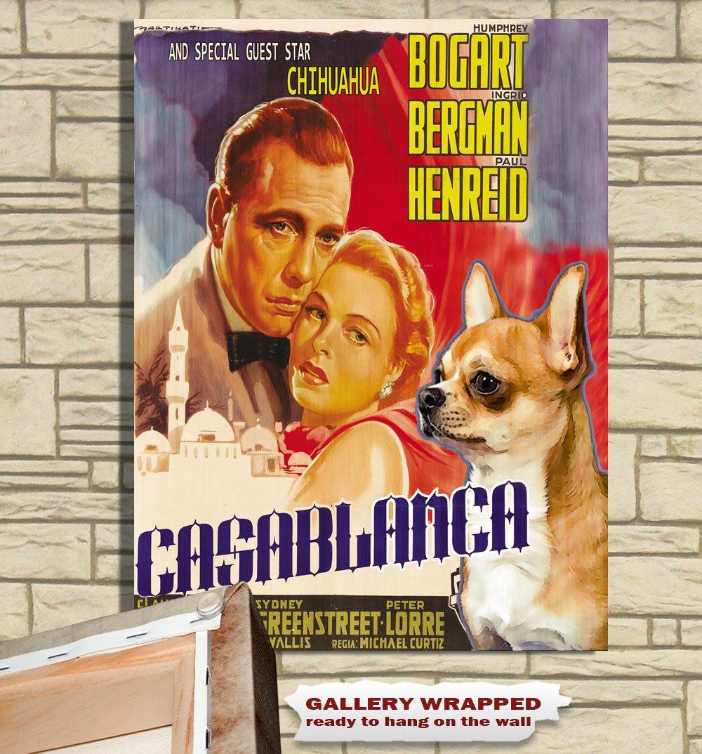 Chihuahua Poster Canvas Print -  Casablanca