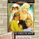 Japanese Chin Poster Canvas Print -  Some Like It Hot