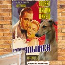 Greyhound Poster Canvas Print -  Casablanca
