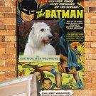 Irish Wolfhound Poster Canvas Print -  Batman