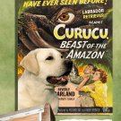 Labrador Retriever Poster Canvas Print -  Curucu, Beast of the Amazon
