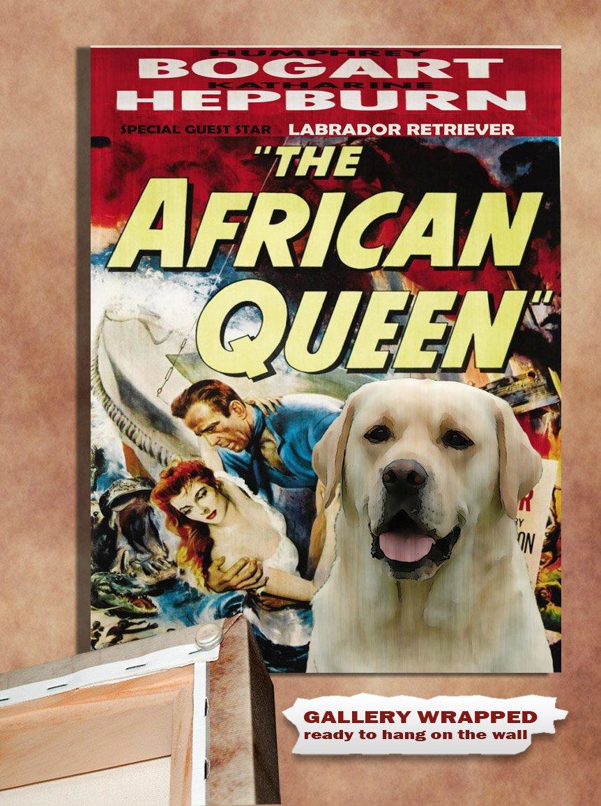 Labrador Retriever Poster Canvas Print - The African Queen