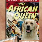 Labrador Retriever Poster Canvas Print - The African Queen