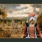 Bearded Collie Fine Art Canvas Print - The best dress for the fair