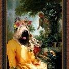 Briard Fine Art Canvas Print -  Cherry picquing