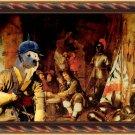 Cane da pastore Maremmano Abruzzese Fine Art Canvas Print - Guards resting