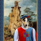 Collie Smooth Fine Art Canvas Print - The trubadour
