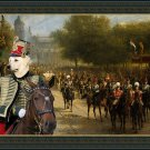 Kuvasz Fine Art Canvas Print - The pride of the imperial quard