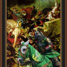 Malinois Fine Art Canvas Print - In the middle of the battle