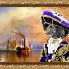 Pumi Fine Art Canvas Print  - The fighting Temeraire