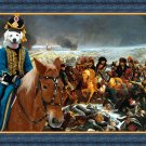 Slovakian Chuvach Fine Art Canvas Print - Napoleon said forward in victory