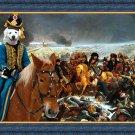 Slovakian Chuvach Fine Art Canvas Print - Napoleon said forward in victory