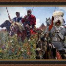 South Russian Ovtcharka Fine Art Canvas Print - Taras Bulba