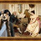 Welsh Corgi Pembroke Fine Art Canvas Print - The serenade
