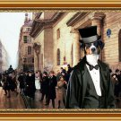 Appenzeller Sennenhund Fine Art Canvas Print - Gentleman on the street