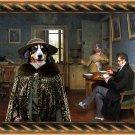 Appenzeller Sennenhund Fine Art Canvas Print - The hot soup