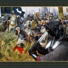 Black Terrier Fine Art Canvas Print - For King and Land