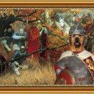 Broholmer Fine Art Canvas Print - Osmatranje bitke