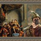 Bullmastiff Fine Art Canvas Print - Cesare and legionars