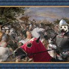 Ca De Bou Fine Art Canvas Print - In the middle of the battle