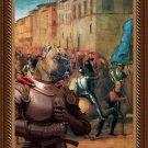 Cane Corso Fine Art Canvas Print - Entree de Charles VIII dans Florence