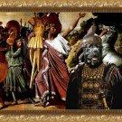 Cane Corso Fine Art Canvas Print - Romulus and Legionars
