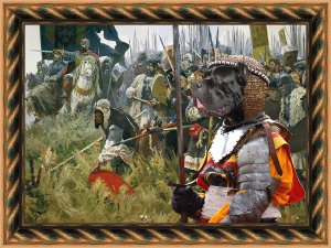 Cane Corso Fine Art Canvas Print - Win or die!