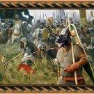 Cao da Serra da Estrela Fine Art Canvas Print - Russian pride and glory