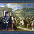 Cao da Serra da Estrela Fine Art Canvas Print - Entrée de Napoléon à Berlin