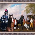 Cao da Serra da Estrela Fine Art Canvas Print - The Prince of Wales's Phaeton