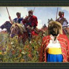 Caucasian Shepherd Dog Fine Art Canvas Print - Taras Bulba