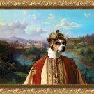 Dansk Svensk Gardshund Fine Art Canvas Print - King's land