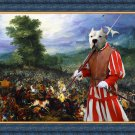 Dogo Argentino Fine Art Canvas Print - For King and Queen