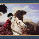 English Bulldog Fine Art Canvas Print - The Noble Lady