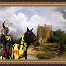 English Mastif Fine Art Canvas Print - The Ruins Home