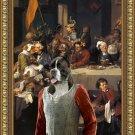 German Boxer Fine Art Canvas Print - The Banquet
